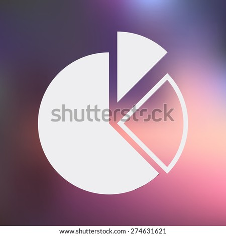 vector illustration of business and finance icon graph - stock vector