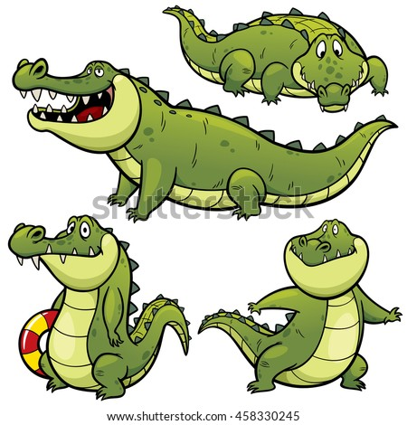 Cartoon Gator Stock Images, Royalty-Free Images & Vectors ...