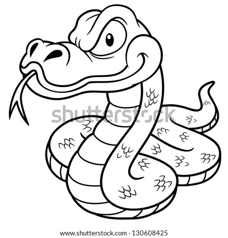 Snakes Cartoon Stock Royalty Free & Vectors