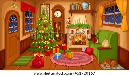 Shutterstock Vector Line Living Room