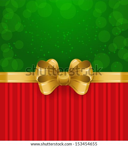 Vector illustration of Christmas/New Year decor. Colorful background for your design of greeting cards, invitations, congratulations - stock vector