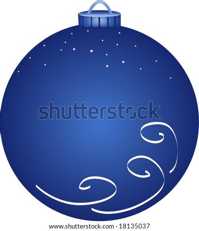 Vector illustration of christmas ornament - stock vector
