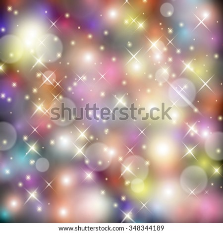 Vector illustration of color background