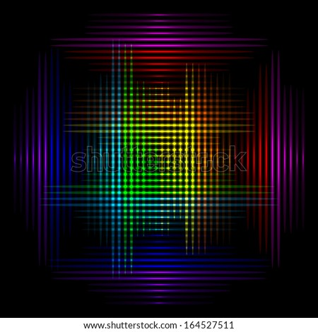 Vector illustration of colorful background 1