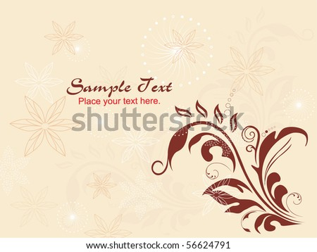 vector illustration of creative artwork background