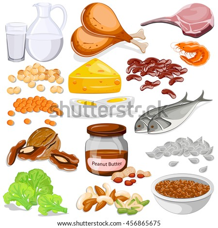 Protein Foods Stock Images, Royalty-Free Images & Vectors