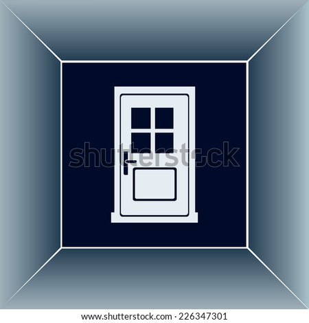 Vector illustration of doorVector illustration of door