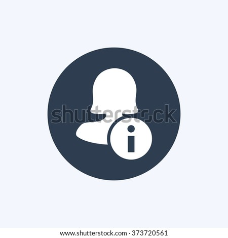 Female user info icon stock vector 428589184 shutterstock for Vector canape user manual