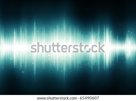 Vector illustration of futuristic abstract glowing party background