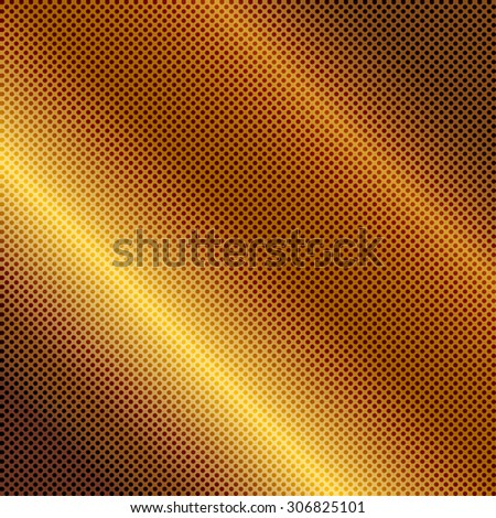 Vector illustration of gold background - stock vector