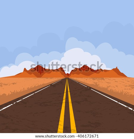 how to draw a desert background