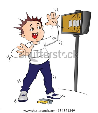 short fuse stock photos royalty images vectors shutterstock vector illustration of man receiving an electric shock after short circuit in fuse box