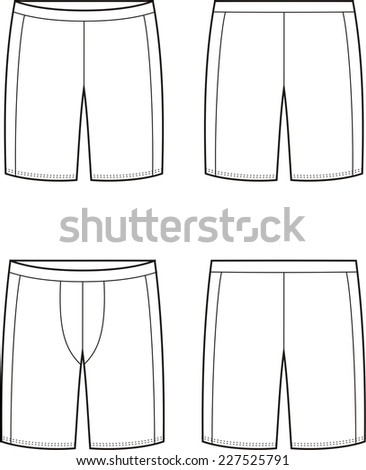 Vector illustration of men's and women's sport cycling. Front and back views - stock vector