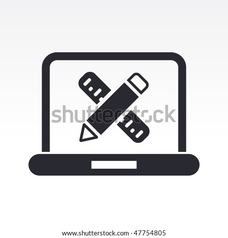 Vector Illustration Of Modern Icon Depicting A Interior Design Or Architecture An Apartment