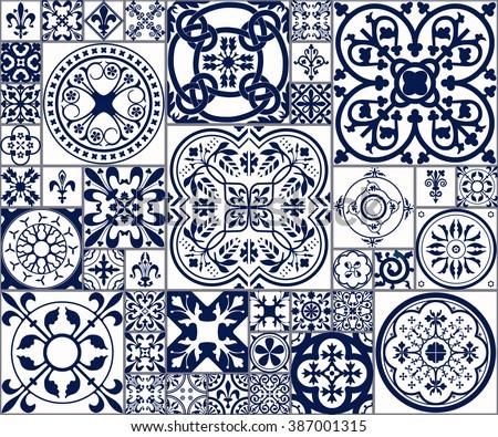 Spanish design stock images royalty free images vectors vector illustration of moroccan tiles seamless pattern for design website background banner voltagebd Gallery