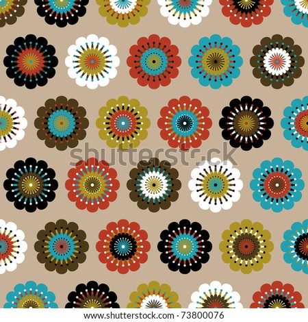 Seamless Geometric Pattern Background Stock Illustration ...