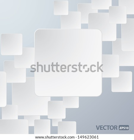 vector illustration of paper frame background for your text or image