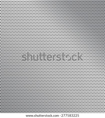 Vector illustration of perforated technology background with gradient - stock vector