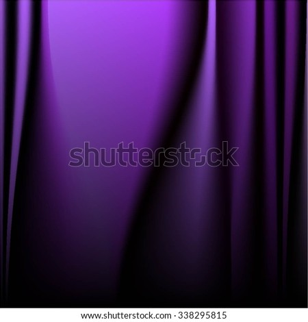 Vector illustration of Purple abstract background. - stock vector