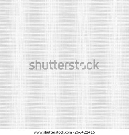 Vector illustration of realistic linen texture.Gray background - stock vector