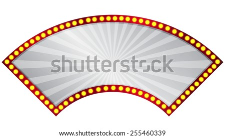 Vector illustration of  retro sign - stock vector