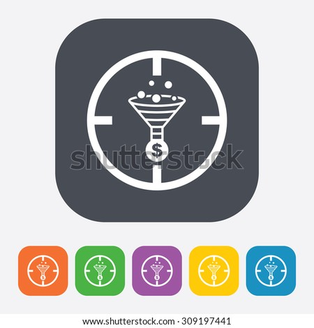 vector illustration of  seo modern icon
