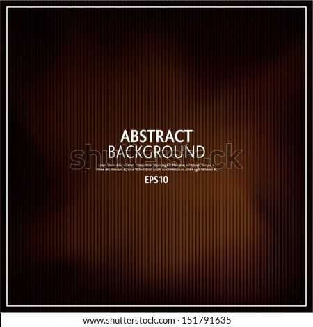 Vector illustration of soft brown dark abstract background - stock vector