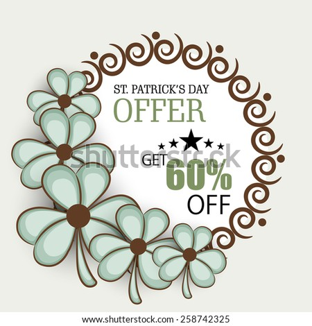 Vector illustration of St. Patrick's Day. - stock vector