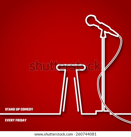 Stand up Comedy Stage Wallpaper of Stand up Comedy in