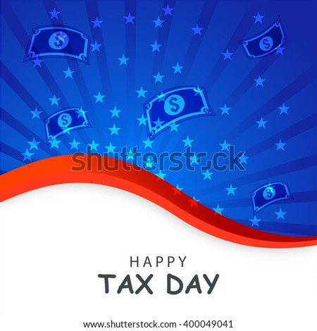 Vector illustration of Taxes design over white background.