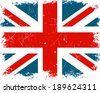 Vector Illustration of the United Kingdom Flag - stock photo
