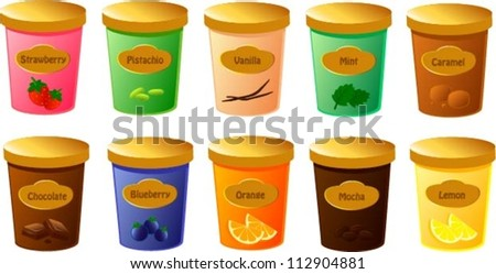 Tub Of Ice Cream Stock Photos Images Amp Pictures