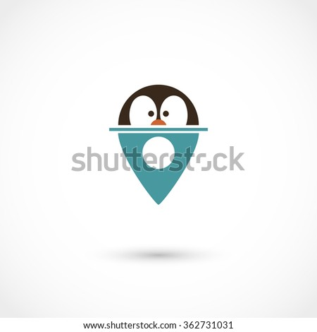 Vector illustration of zoo tag. Eps 10, contains transparency - stock vector