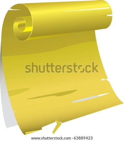 Vector illustration - old paper backgrounds - stock vector