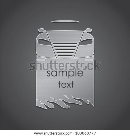 Vector illustration on vehicles - stock vector