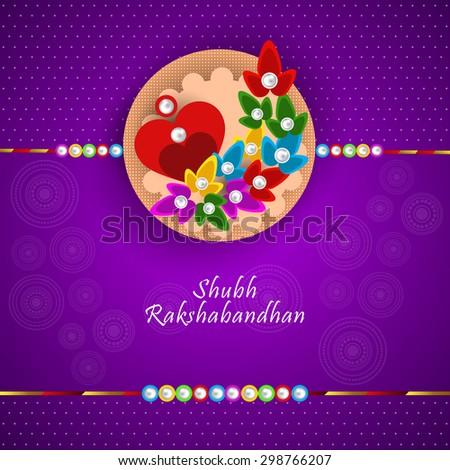 Vector illustration greeting card raksha bandhan stock vector vector illustration or greeting card for raksha bandhan with beautiful decorative rakhi m4hsunfo