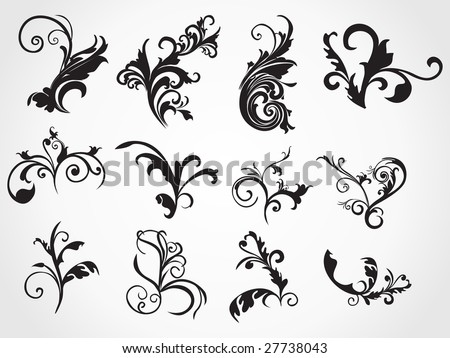 scroll work stock images royalty free images vectors shutterstock. Black Bedroom Furniture Sets. Home Design Ideas