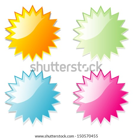 Vector illustration shiny and glossy icon spherical radial network. - stock vector