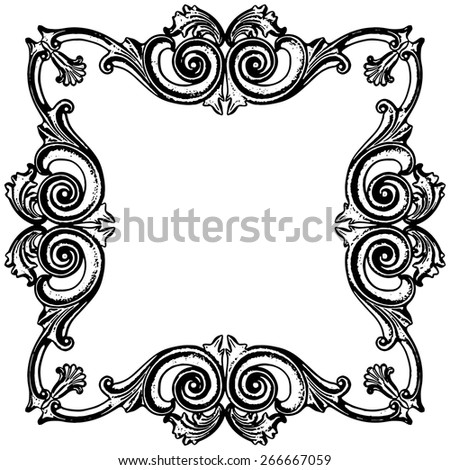 Vector illustration, the sculptural form on a white background - stock vector