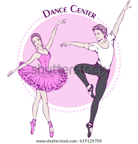 Greeting Card For Ballet Dancer Stock Images, Royalty-Free ...