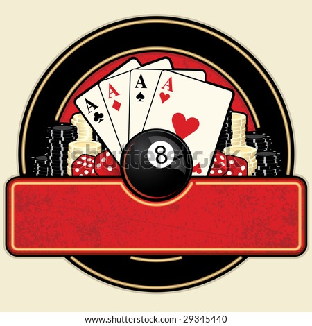 aces and eights poker club logos