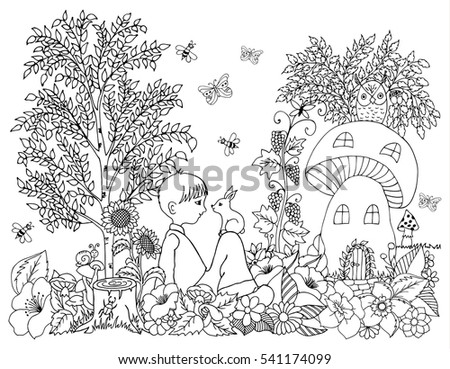 Stock images royalty free images vectors shutterstock Coloring books for adults near me