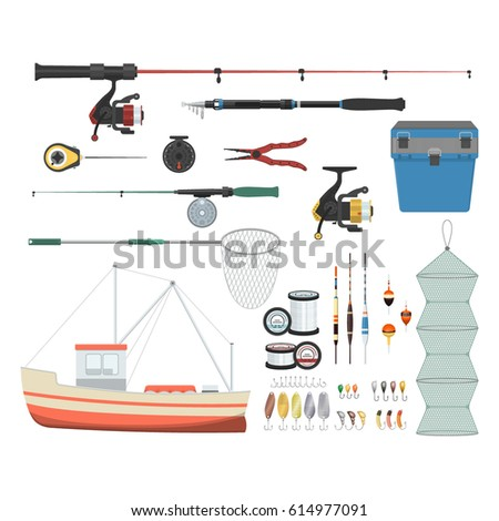 fishing tool stock images, royalty-free images & vectors, Fishing Rod