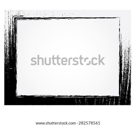Vector illustrator, grunge frame style, abstract texture.