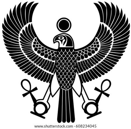 egyptian eagle vector wwwpixsharkcom images