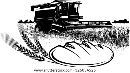 John Deere Combine Clip Art Black And White Pictures to ...