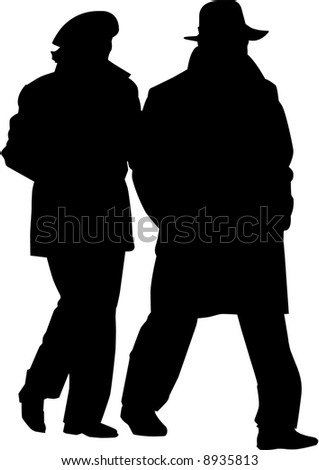 vector image of man and woman