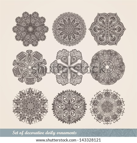 stock-vector-vector-indian-ornament-kaleidoscopic-floral-pattern ...