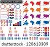 Vector - Infographic Elements - stock vector