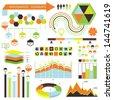 Vector infographic. Eps 10 - stock